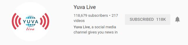 Yuva Live - youtube kannada channels